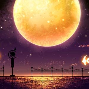 【月、停まり】 2014.08.31