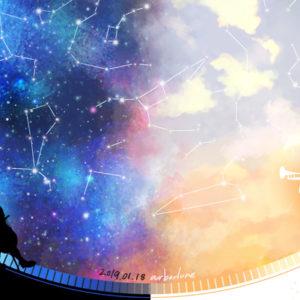 【star charts】 2019.01.18