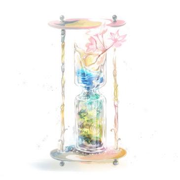 ワンドロイラスト本『Hourglass Fantasy』制作設定