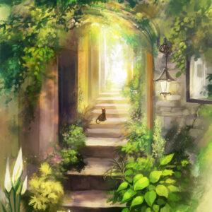 【緑の小道】 2020.11.06