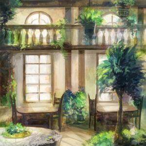 【緑の喫茶店】 2021.02.20
