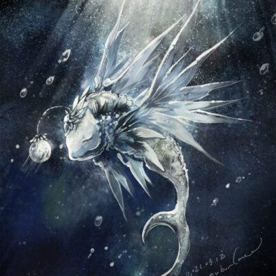 【月の化石が泳ぐ】 2021.03.12