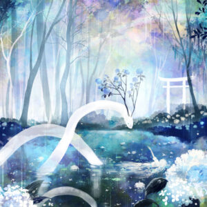【沈まぬ紫陽花の夢】 2021.06.26