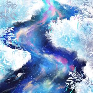 【星空の河で絵筆を洗う】 2021.07.07