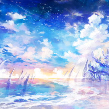 空と箱庭に贈る天蓋のアートの話